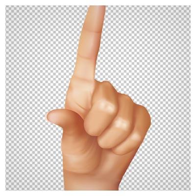 دانلود فایل png دست چپ به صورت عمودی دوربری شده