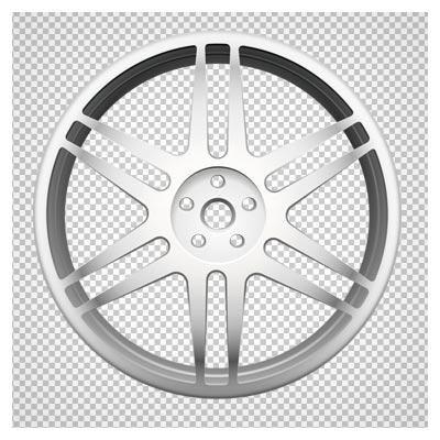 رینگ لاستیک با طرح موازی، دانلود بصورت فایل ترانسپرنت PNG