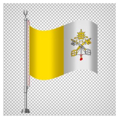 پرچم رومیزی کشور واتیکان ، دانلود بصورت فایل فاقد بکگرند و دوربری شده