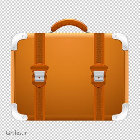 چمدان قدیمی دو قفله ، دانلود بصورت فایل بدون بکگرند و دوربری شده