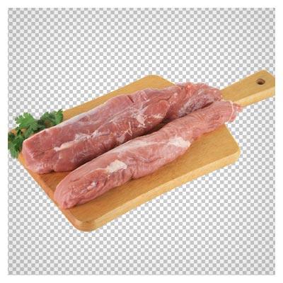 ماهیچه های روی تخته گوشت، دانلود فایل بصورت png و دوربری شده