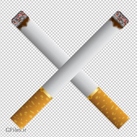 تصویر دو سیگار روشن ضبدری ، دانلود بصورت فایل پی ان جی و ترانسپرنت