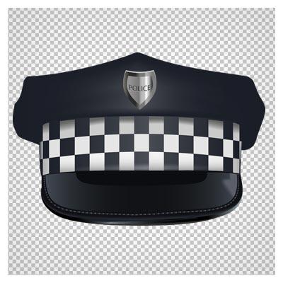 تصویر کلاه نقابدار پلیس بدون پس زمینه و پسوند پی ان جی
