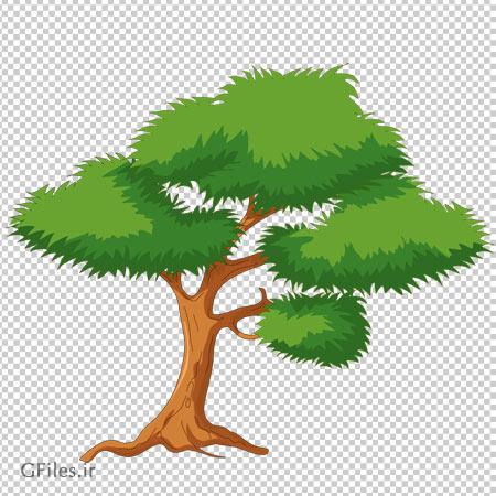 دانلود کلیپ آرت درخت بدون پس زمینه با فرمت پی ان جی