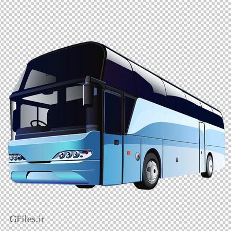 اتوبوس وی آی پی (VIP) آبی بصورت فایل دوربری شده