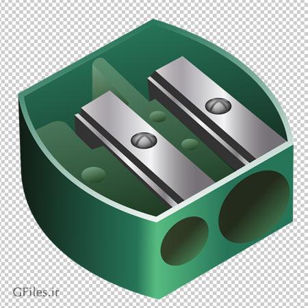 تراش دو سایزی سبز ، دانلود بصورت فایل پی ان جی