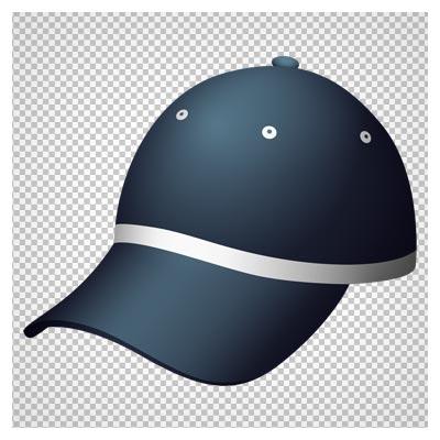 کلیپ آرت کلاه نقاب دار اسپرت با رنگ سیاه با فرمت پی ان جی