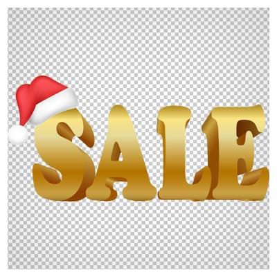 دانلود لوگو فروش (sale) ویژه کریسمس با فرمت پی ان جی