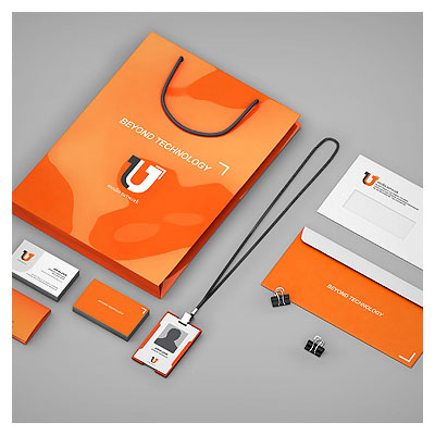 فایل موکاپ (پیش نمایش PSD) لایه باز ست اداری شامل ساک خرید ، کارت ویزیت و پاکت نامه