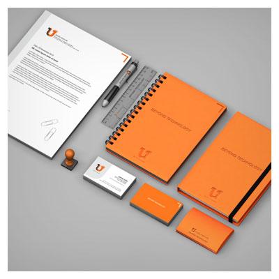 دانلود PSD پیش نمایش یا موکاپ ست اداری (شامل سربرگ ، کارت ویزیت ، دفترچه فنری)