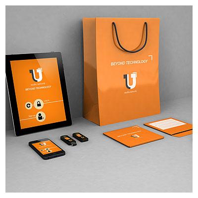 طرح لایه باز موکاپ (Mockup) جعبه سی دی ، ساک خرید ، تبلت و گوشی