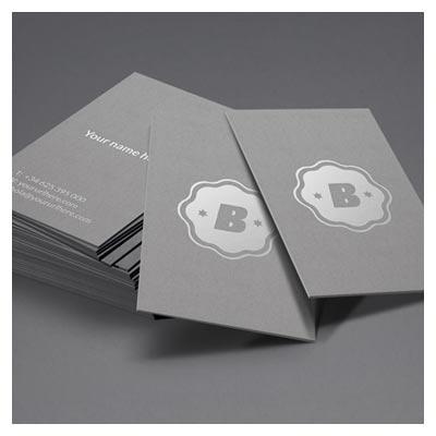 فایل پیش نمایش (Mockup) کارت ویزیت با قابلیت نمایش طرح رو و پشت کارت ویزیت