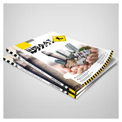 موکاپ لایه باز مجله (کتاب) با امکان نمایش کاور (جلد) و صفحات داخلی (فرمت psd)