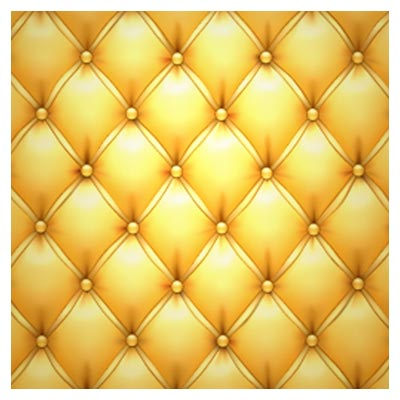 دانلود وکتور پس زمینه با طرح پارچه مبل و رنگ طلایی