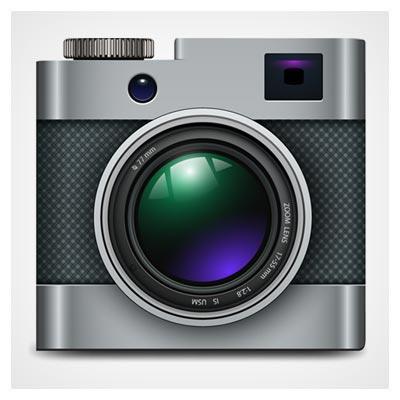 فایل لایه باز وکتور (eps و ai) دوربین عکاسی قدیمی