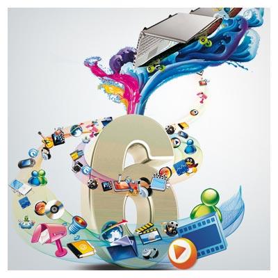 طرح لایه باز بنر تبلیغاتی psd (اسلایدر سایت) با موضوع رسانه های دیجیتال و فناوری اطلاعات