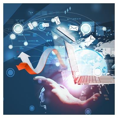 اسلایدر و بنر تبلیغاتی لایه باز با موضوع شبکه ، اینترنت و فناوری اطلاعات (با فرمت psd)