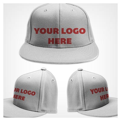 موکاپ یا پیش نمایش کلاه ورزشی با امکان نمایش نوشتار یا لوگو روی کلاه