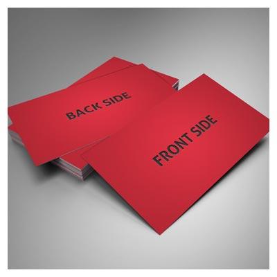 موکاپ یا پیش نمایش (Mockup) دو حالت متنوع کارت ویزیت (psd لایه باز)