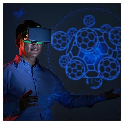 عکس با کیفیت عینک واقعیت مجازی برای نجات جان انسان ها