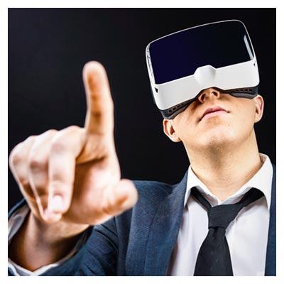 دانلود عکس با کیفیت مردی با عینک واقعیت مجازی با پسوند jpg