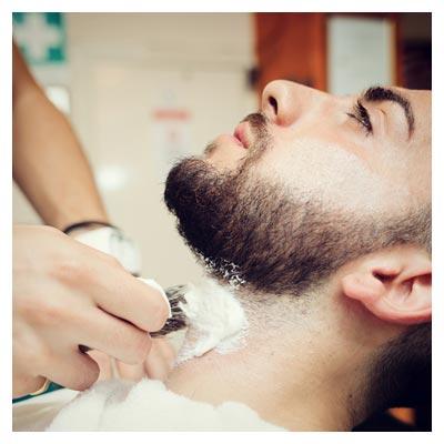 دانلود عکس رایگان و با کیفیت از اصلاح ریش در آرایشگاه مردانه