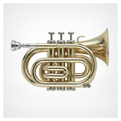 عکس شیپور طلایی براق بزرگ برای موسیقی با فرمت jpg