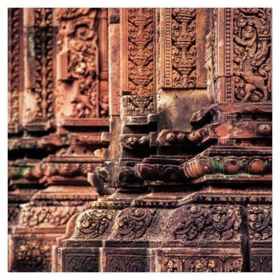 عکس ستون های تاریخی معبد بانتی سری با فرمت jpg