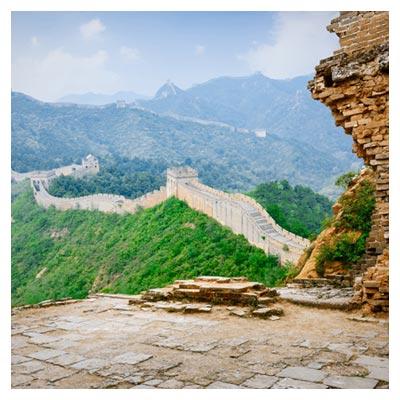 عکس تاریخی جغرافیایی دیوار بزرگ چین به صورت رایگان