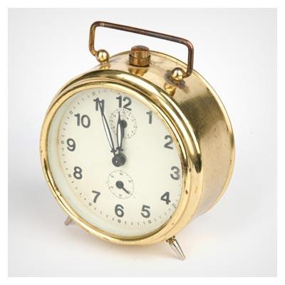 دانلود رایگان تصویر ساعت زنگ دار رومیزی قدیمی با فرمت jpg