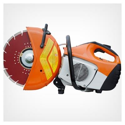 دانلود عکس با کیفیت اره برقی موتوری نارنجی با فرمت jpg