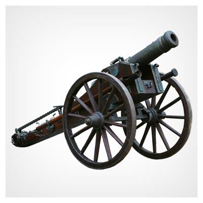 دانلود رایگان عکس شاتراستوک اهرم چرخدار برای پرتاب توپ های جنگی