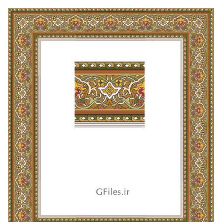 دانلود طرح مناسب برای طراحی های مذهبی وکتوری ai و esp