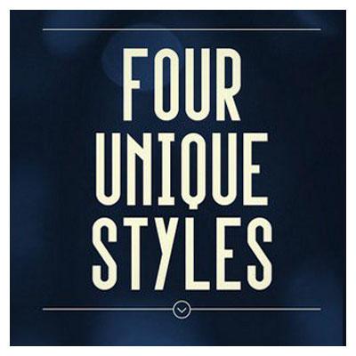 دانلود فونت انگلیسی Upside در چهار وزن مختلف و پسوند otf