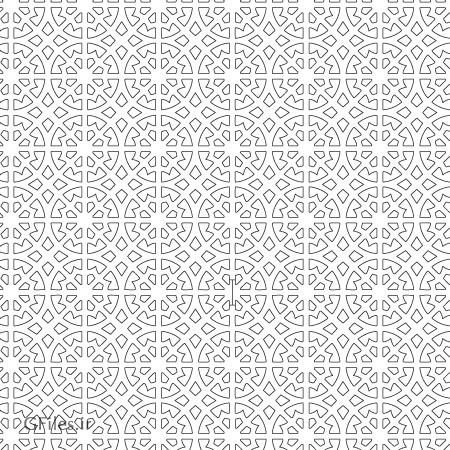 طرح لایه باز مشبک اسلامی جهت برش لیزر و سی ان سی با دو فرمت cdr و dxf