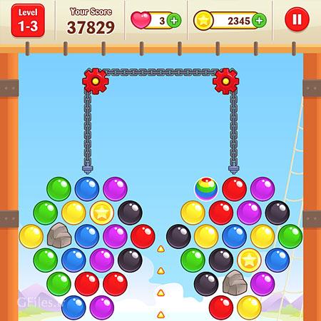 دانلود طرح وکتوری رابط گرافیکی عناصر و المان های بازی پرتاب توپ، مناسب برای طراحی ui بازی های تلفن همراه