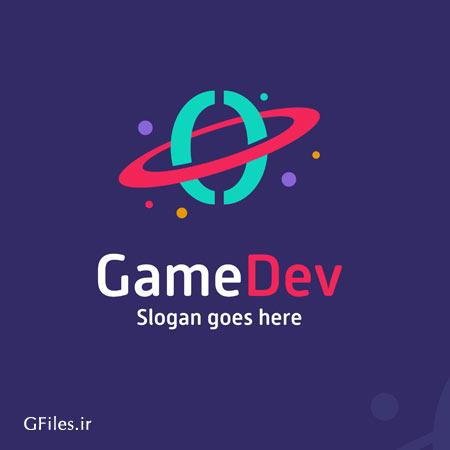 دانلود طرح گرافیکی لوگو وکتوری با مفهوم بازی رنگی توسعه دهنده ارائه شده با دو فرمت ai و eps