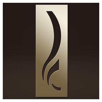 طرح لایه باز نقش روی درب چوبی یا فلزی جهت برش لیزر یا سی ان سی
