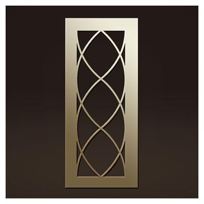 طرح تزئینی درب یا پنجره جهت برش لیزر یا cnc با فرمت های dxf و cdr