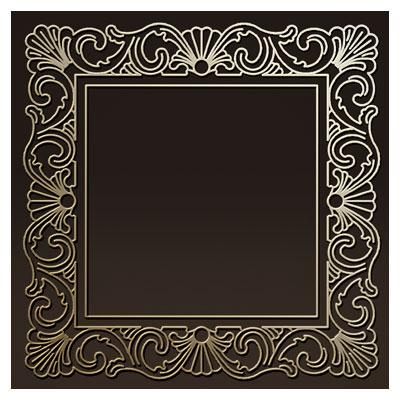 طرح لایه باز قاب آیینه (فریم و حاشیه) مناسب برای حکاکی ، برش لیزر یا cnc