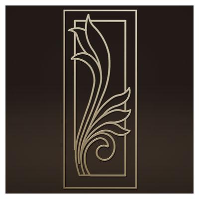 طرح آماده لایه باز مناسب برای برش و حک روی درب فلزی یا چوبی
