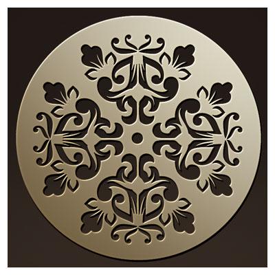 دانلود فایل dxf و cdr طرح و المان تزئینی مدور مناسب برای برش یا حک روی چوب و فلز