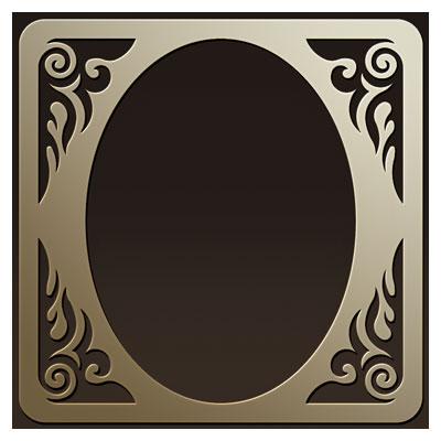 طرح لایه باز قاب و فریم جهت برش لیزر یا سی ان سی و ساخت آیینه