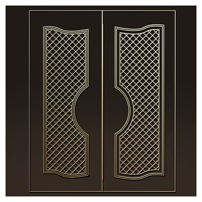 دانلود طرح لایه باز تزئینی مناسب برای درب های چوبی