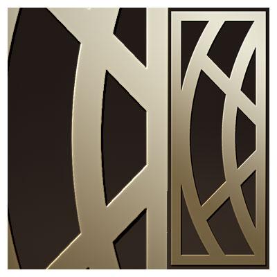 طرح تزئینی درب جهت برش لیزر یا سی ان سی (cdr و dxf)