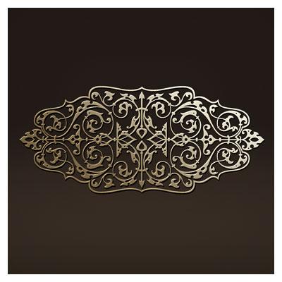 دانلود المان تزئینی مناسب برای برش لیزر یا cnc (حک روی چوب یا فلز)