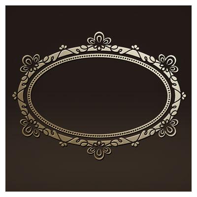 طرح لایه باز قاب و فریم مناسب برای آیینه جهت برش لیزر یا حکاکی و cnc