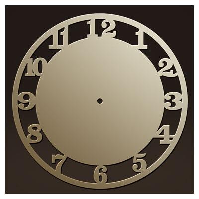 دانلود طرح cdr و dxf ساعت دیواری مناسب برای برش لیزر یا cnc