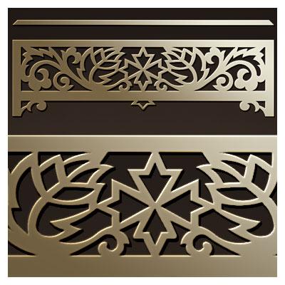 دانلود المان تزئینی مناسب برای برش سی ان سی یا لیزر و ساخت جعبه نفیس