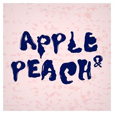 دانلود فونت فانتزی انگلیسی Apple Peach مناسب برای طراحی های غیر رسمی